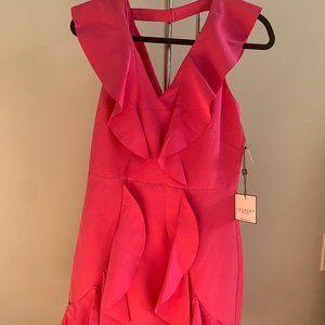 Laundry A-Line Ruffle Dress NWT